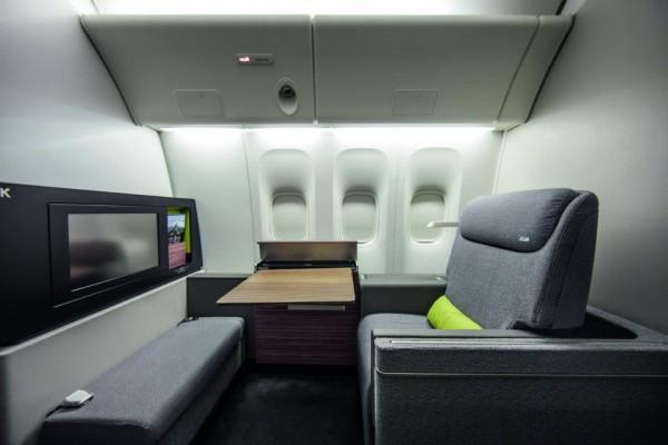 Nueva 1era Clase en TAM. Presente en vuelos a Miami (MIA), Nueva York (JFK) y París (CDG).