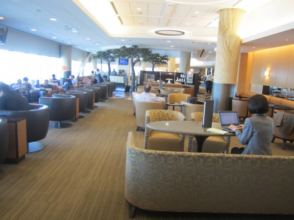 Admirals Club in SFO