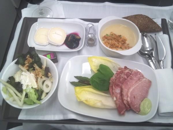 Iberia comida A330