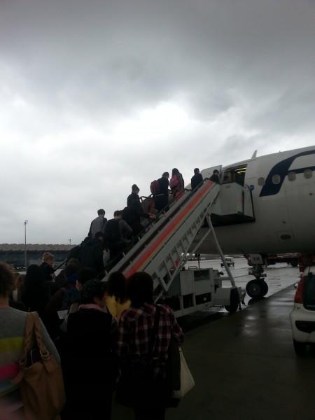Finnair Boarding