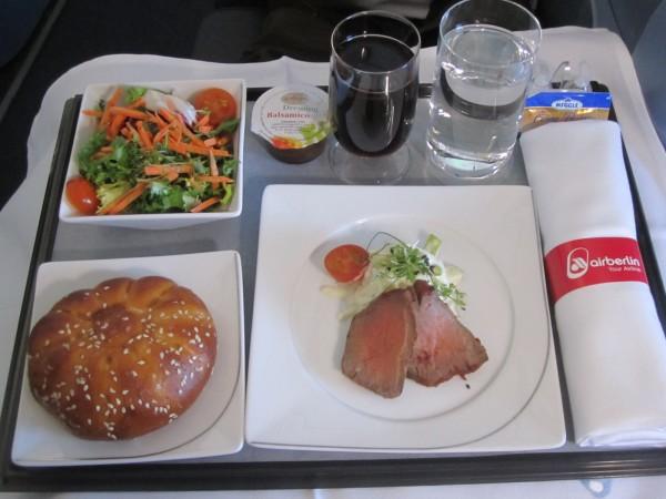 airberlin J comida