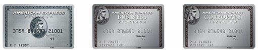 Centurion Platinum Cards