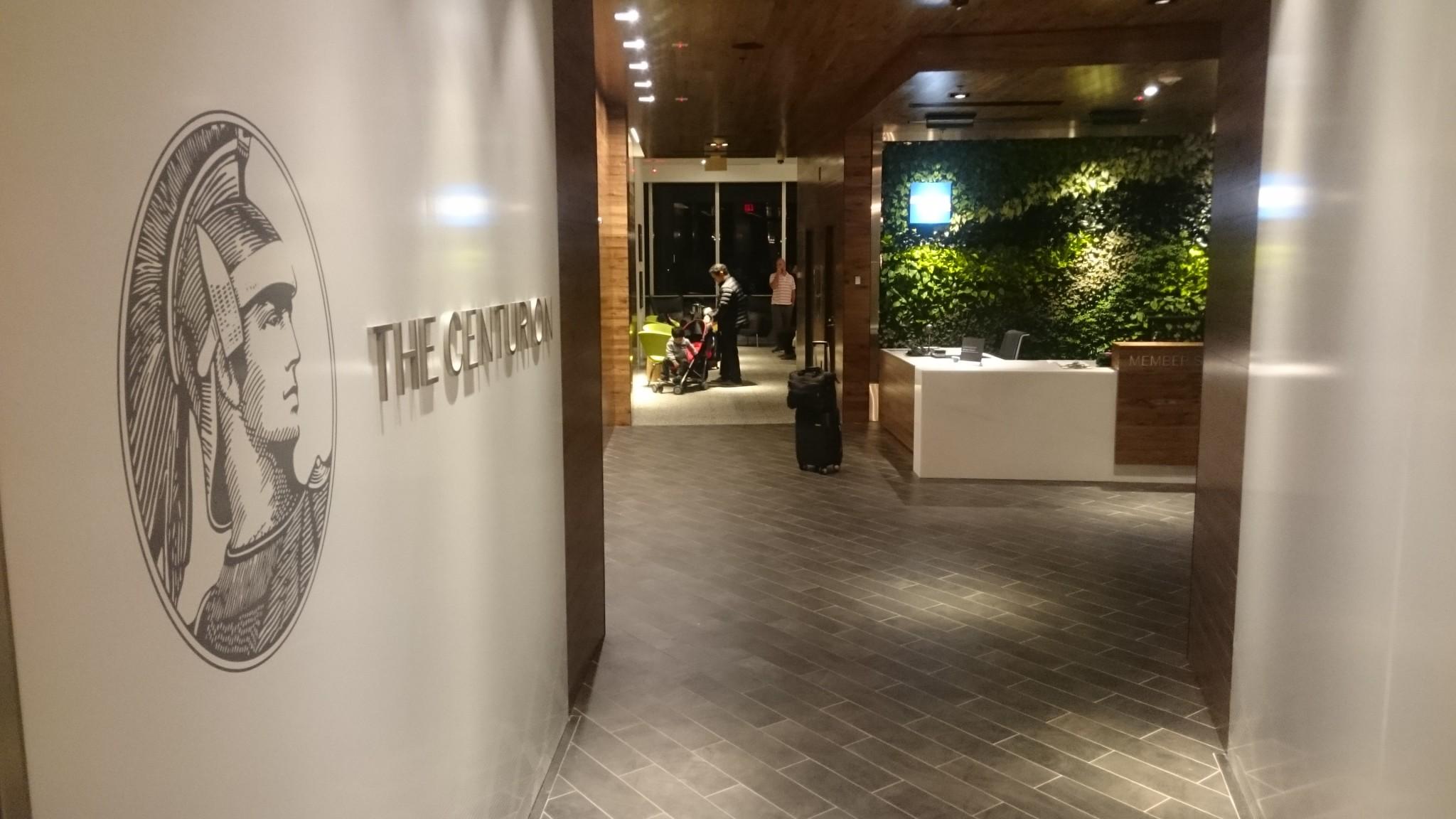 Centurion Lounge De American Express En El Aeropuerto