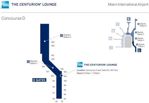 Centurion Miami Mapa