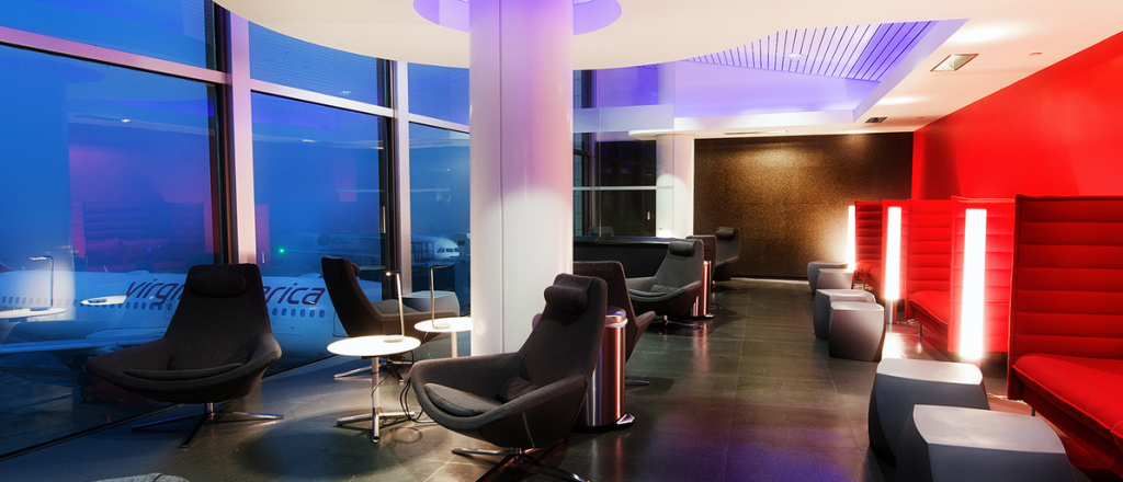 The Loft at LAX Virgin America