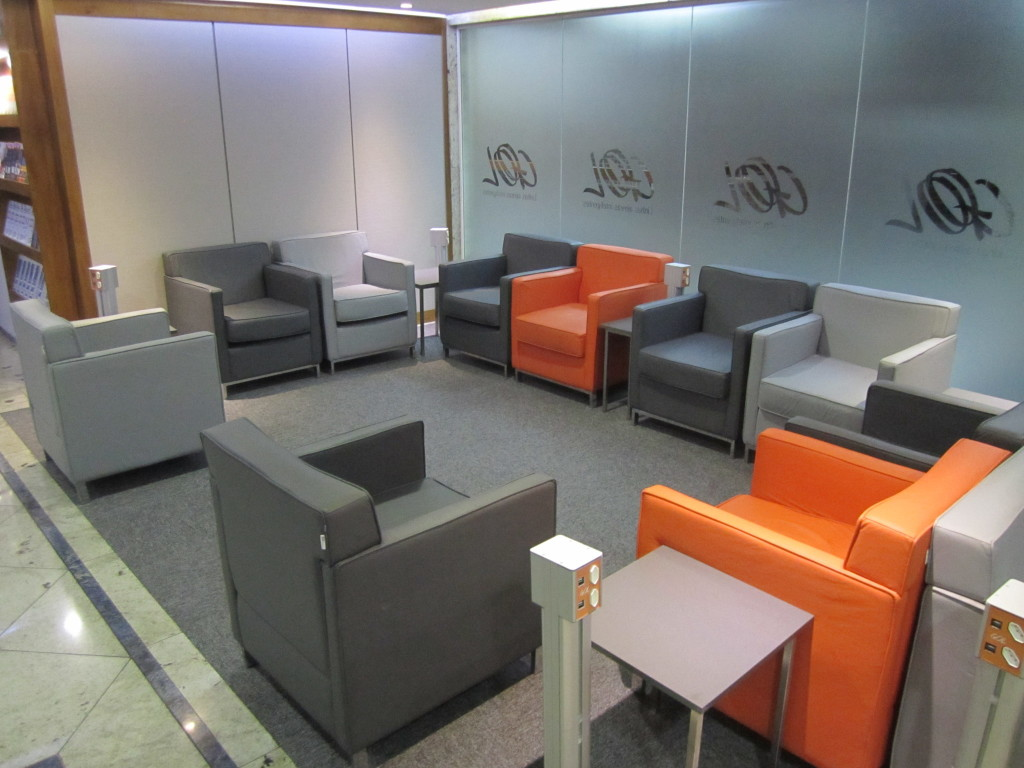 Gol Smiles 24hr Lounge Sala VIP T2 - GRU-09